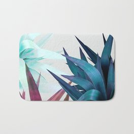 Tropical Leaves, Botanical Bath Mat