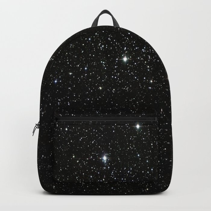 Space - Stars - Starry Night - Black - Universe - Deep Space Rucksack