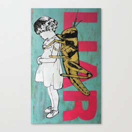 LIAR Canvas Print