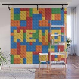Legos Wall Mural