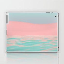 Pink Beach Laptop & iPad Skin