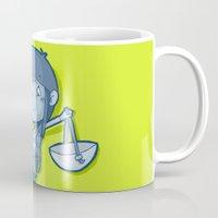 libra Mugs featuring Libra by Chiara Zava