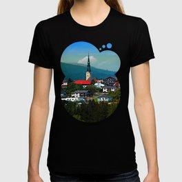 A village in autumn season T-shirt
