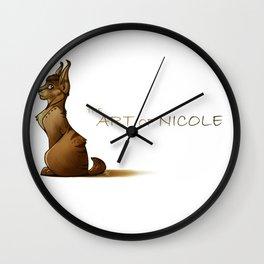 The Art of Nicole Wall Clock