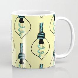 Light Bulb- Yellow Coffee Mug