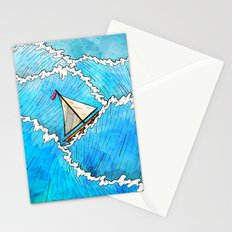 Let's Go Sailing Stationery Cards
