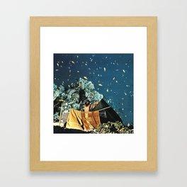 Notte pescata Framed Art Print