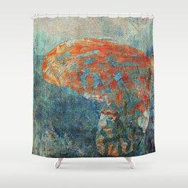 Moths 4 Shower Curtain