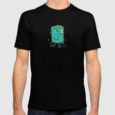 Night of the Living Dead Battery Bot Mens Fitted Tee SMALL Black