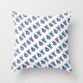 Bingo Bronson Throw Pillow