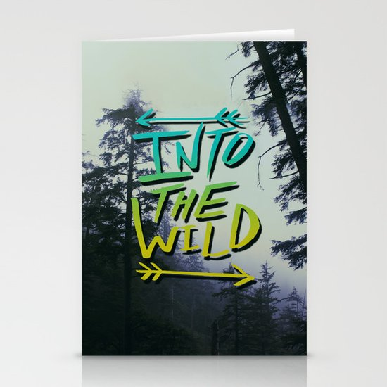 Into the Wild IV Stationery Cards