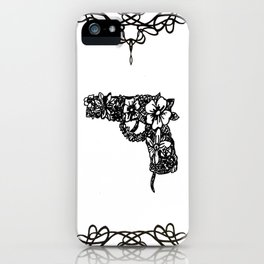 Life industrializes death iPhone Case
