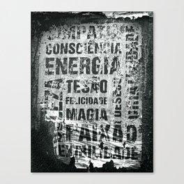 Energia Canvas Print