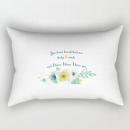 Pride and Prejudice, Jane Austen Rectangular Pillow