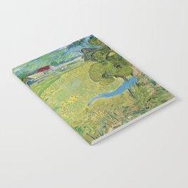 Vincent Van Gogh View Of Vessenots Near Auvers Notebook