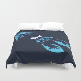 Blue Kraken Duvet Cover