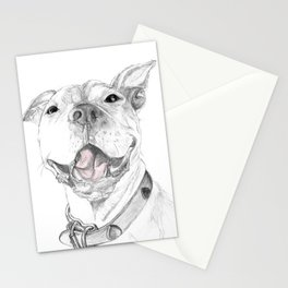 A Smile is Worth a Thousand Words :: A Pit Bull Smile Stationery Cards