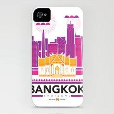 City Illustrations (Bangkok, Thailand) iPhone (4, 4s) Slim Case