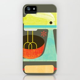 Kitchen Mix & Roll iPhone Case