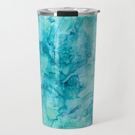 Dreams in Teal Travel Mug
