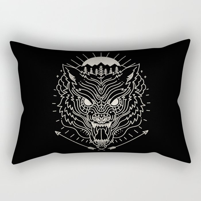 BEAST MODE Rectangular Pillow