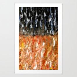 Warm Nights Art Print