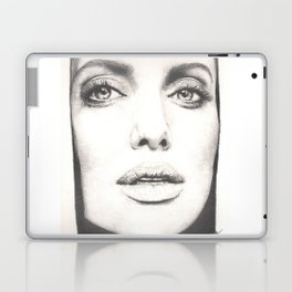the lovely angelina... Laptop & iPad Skin
