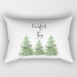 Comfort and Joy Rectangular Pillow