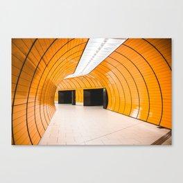 tunel Canvas Print