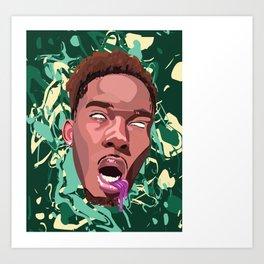 Trippy Art Print