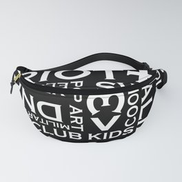 TEXT MACHINE Fanny Pack