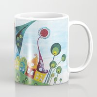 snail Mugs featuring Snail by Annabies