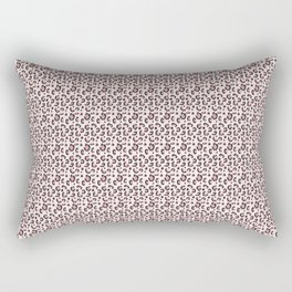 Cheetah print light pink Rectangular Pillow