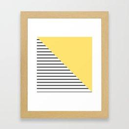 dismantled pattern Framed Art Print