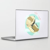 aang Laptop & iPad Skins featuring Appa - Avatar the legendo of Aang by Manfred Maroto