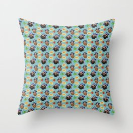 Ahoy Matey! Throw Pillow