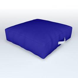 Solid Color Ultramarine Outdoor Floor Cushion