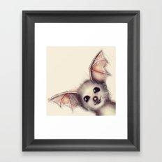 What the Fox? Framed Art Print