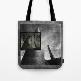 As cannons pointed at the sky Tote Bag