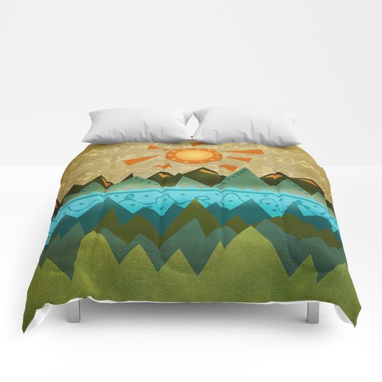 Textures/Abstract 124 Comforters