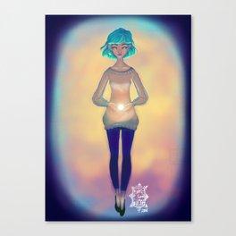 Fuente de luz Canvas Print