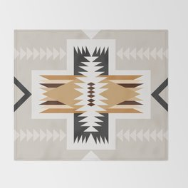 mineral sands Throw Blanket