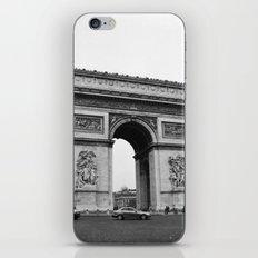 Arc de Triomphe Noir iPhone & iPod Skin
