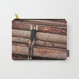 wounded wood Carry-All Pouch