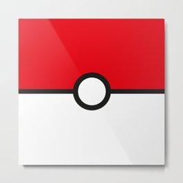 Pokémon Go Addict Metal Print