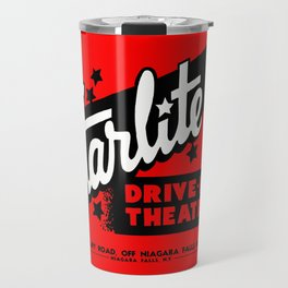 Starlite Drive In Red Travel Mug