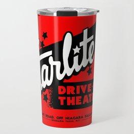 Starlite Drive In Red Travel Mug