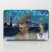 larry stylinson iPad Cases featuring Larry Stylinson-Peter Pan  by MADEINTHEAM