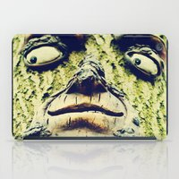 1984 iPad Cases featuring Mother Nature is watching you -1984- by iGems