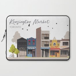 Kensington Market 1 - Toronto Neighbourhood Laptop Sleeve